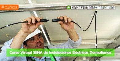 cursos virtuales sena de electricidad