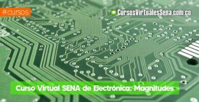 curso de electronica sena virtual