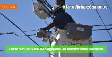 curso de instalaciones electricas seguras sena